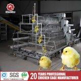 un type 3 cages de poulet de ferme de pneus pour 20000 poules pour font les oeufs (A-3L90)