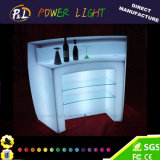 LED-Möbel RGB-glühender geleuchteter PET LED Stab-Bereich