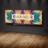 Изготовленный на заказ рекламируя стикера стены цифров знамени винила гибкого трубопровода плаката PVC печатание графический дисплейй материального напольный крытый