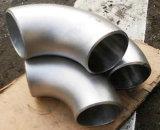 Encaixes de tubulação do aço inoxidável do ANSI B16.9 316L cotovelo de 90 graus