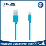 Câble de PVC de caractéristiques d'approvisionnement de fabrication pour l'androïde d'iPhone