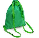 Sacs de cordon de mode de vert de cadeau de promotion