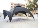 La pubblicità esterna di alta qualità schiocca in su la tenda dell'arco