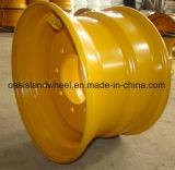 Rotella d'acciaio industriale (16.5X9.75) per il manzo ed il carrello elevatore di pattino