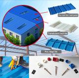 Apvc acanaló la hoja del material para techos para la casa de acero