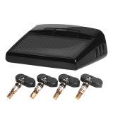 Sensore senza fili di External dell'automobile TPMS+4 del sistema di controllo di pressione di gomma di energia solare
