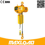 grua 380V Chain elétrica de 3t 5m com gancho
