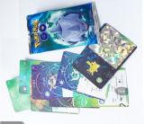 A edição nova Pokemon vai jogo de cartão de cartões de jogo