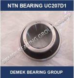 Rodamiento de bolitas radial de la pieza inserta de NTN Angriculture UC207 D1 en existencias