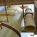 Encaixes de tubulação da fibra de vidro de FRP/GRP/- cotovelo com baixo custo da instalação