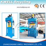 Machine hydraulique de presse d'herbe/presse carrée verticale de foin/machine de emballage de tissu