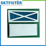 Faltender Primärluftfilter für Filtration