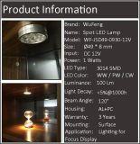 Luz del punto del LED para la cabina, cocina, muebles