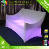 Meubles lumineux rechargeables en plastique de barre de DEL