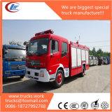 190HP Motor Dongfeng Gaveta a mão com tanque de água com tanque de bombeiros