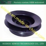 Soufflets et garniture noirs personnalisés de coussinet en caoutchouc de silicones