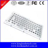 86 tastiera industriale dell'acciaio inossidabile di tasti 304 per il chiosco