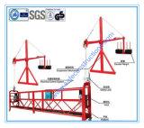 Plataforma suspendida durable segura del andamio para la construcción