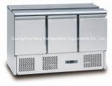 Холодильник индикации пиццы нержавеющей стали для обслуживания шведского стола