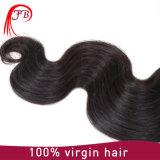 Armadura brasileña 100% del pelo humano de la onda de la carrocería de Remy de la Virgen