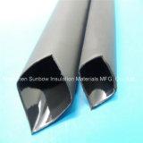 3: 1 Forrado de adhesivo de pared media de fusión en caliente de poliolefina tubo termocontraíble