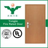 Дверь древесины пожара Lowes нутряная двойная