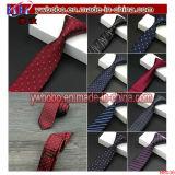 Lazo de la corbata de los lazos de los hombres Wedding el regalo de seda flaco tejido telar jacquar clásico de la Navidad (B8036)