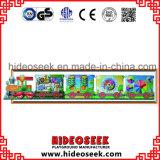 Placa de parede de estilo de trem para crianças