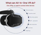 Nieuwste 3D Androïde ALLE HOOFDTELEFOON VR van het Scherm van de Aanraking Kleine 320g