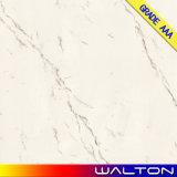 600X600 Carrara 백색 사본 대리석은 윤이 난 사기그릇 지면 도와를 유리화했다