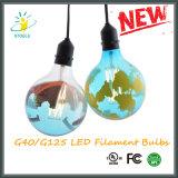 Lampes décoratives d'ampoule de chaîne de caractères de l'ampoule G40/G125 d'éclairages LED