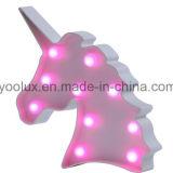 Luces con pilas plásticas de la carpa LED de la vendimia de la piña LED Symble