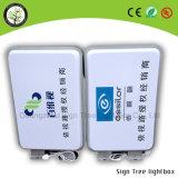 Kundenspezifisches im Freienacryl LED rundes warmgeformtes Lightbox