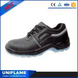 Elegante Industrial Couro Sapatos de segurança Calçado de trabalho Ufa075