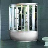 支えがない贅沢2の人の渦のマッサージの皿の蒸気のシャワー室(M-8272)