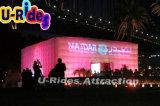 Tent van de waterdichte Grote LEIDENE Kubus van de verlichting de Opblaasbare