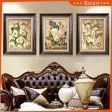 ホテルの装飾で使用されるキャンバスの美しい花の絵画壁の芸術