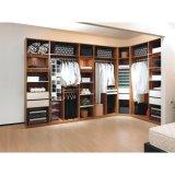 Het moderne Ontwerp van de Garderobe van de Kast van de Slaapkamer van de Melamine van de Luxe Walk-in