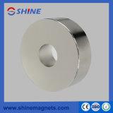 Grande forte e magnete di anello permanente sinterizzato slittato di NdFeB per il driver dell'altoparlante