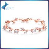 China Supplier CZ Stone Brass Jewelry Bracelet
