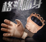 2017 Brown Power Men Military Gloves / Tactical Gloves