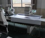 Máquina plana automatizada doméstica principal del bordado del casquillo 3D del precio 1 barato de la alta calidad