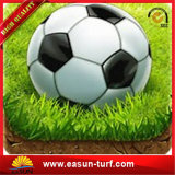 Крытая искусственная трава для ковра травы футбольного поля футбола синтетического