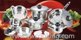 16PCS Wide Edge Cookware Set