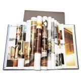 Impresión impresa insignia de encargo profesional del libro de Hardcover