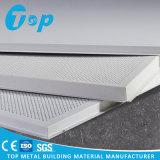 Il nuovo alluminio di progetto dell'ufficio risiede nelle mattonelle del soffitto
