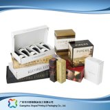 Het golf Vakje van de Verpakking van de Wijn van de Koffie van de Gift van het Document Verpakkende (xc-hba-002)