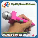 Stylo à bille et feuille de collant de gemme formés par microphone