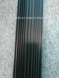 6063t5 geanodiseerde Zwarte 10um het Profiel Heatsink van de Uitdrijving van het Aluminium