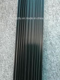 6063t5 anodisierter schwarzer Aluminiumprofil-Kühlkörper des strangpresßling-10um
